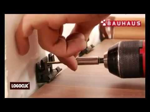 Hervorragend Anbringen Von Sockelleisten   LOGOCLIC Laminat Verlegen 7/7