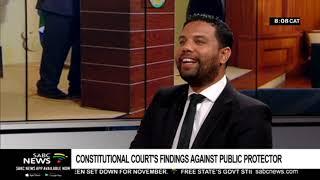 Analysis: Constitutional Court's damning findings against Mkhwebane