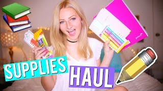 BACK TO SCHOOL SUPPLIES HAUL 2016 + GIVEAWAY