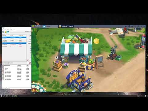 FarmVille 2 Köy Kaçamağı Hile Cheat Engine Blue  Stacks