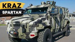 Бронеавтомобиль «КрАЗ Спартан» (Spartan) - видео обзор(КрАЗ Спартан (KrAZ Spartan) - украинский бронеавтомобиль, производится на Кременчугском автомобильном заводе..., 2015-05-23T17:59:01.000Z)