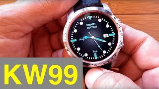 #Review Smart Watch kw99