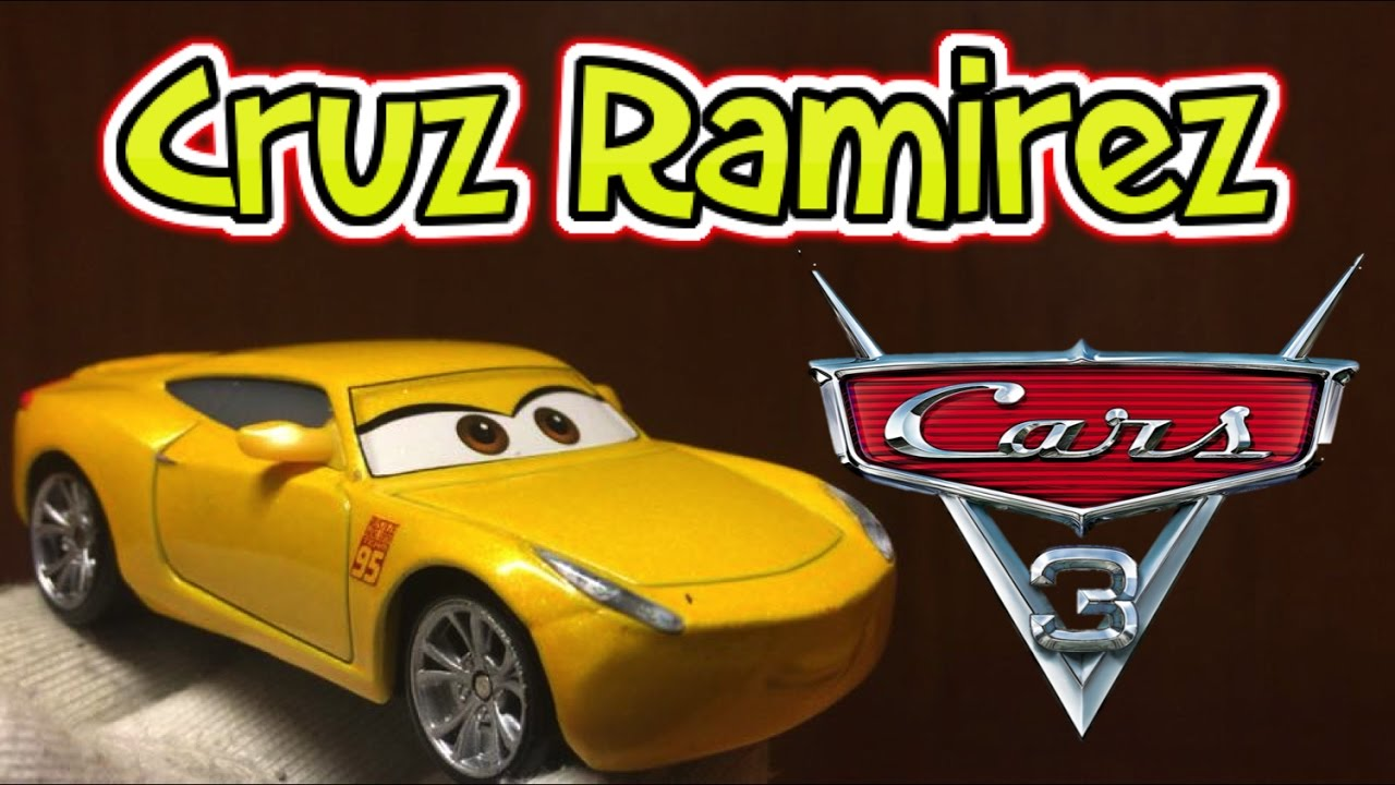 Mattel Cars 3 Cruz Ramirez Die Cast Toy Review Disney Pixar 2017