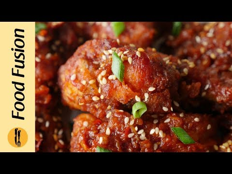 Korean Fried Chicken Recipe By Food Fusion Youtube