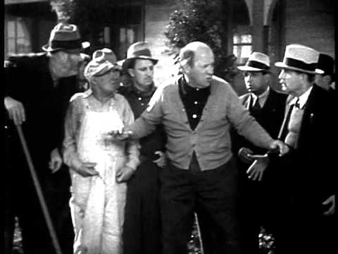 Co-Star Edgar Kennedy in Dumb's The Word - (Laurel & Hardy)