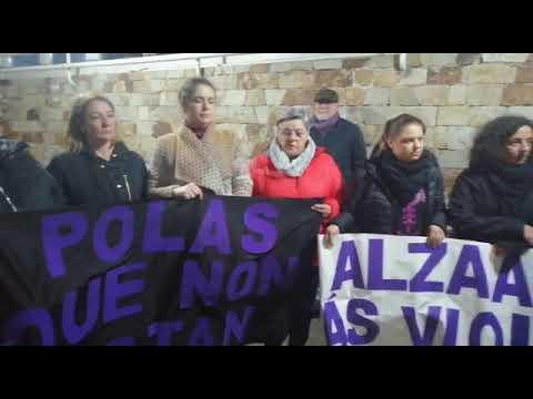 Manifesto das Curandeiras de Vimianzo por un novo asasinato machista