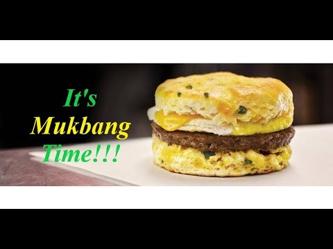 Jalapeño Cheddar Biscuit - It's Mukbang Time!!!