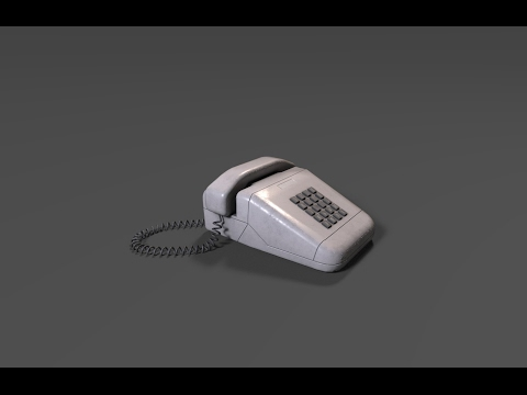 Texturing phone 3ds max - Substance painter tutorial