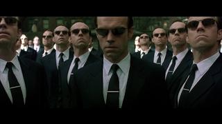 The Matrix Reloaded (2003) Neo vs Smith Fight Scene (1/2) HD