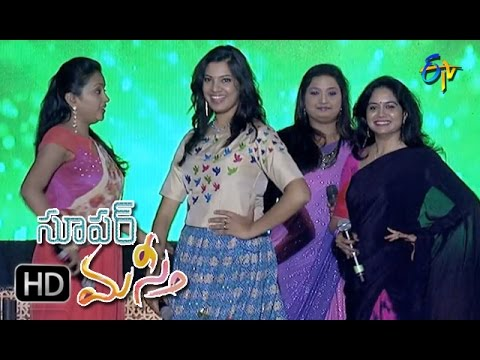 Alanati Song|Sunitha,Geetha,Vijayalakshmi Performance|Super Masti|Narasaraopet|23rd April 2017