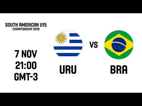 LIVE - Uruguay v Brazil - South American U15 Championship 2018
