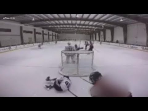 Jeff K - High School Hockey Attack At Euless StarCenter Caught On Camera