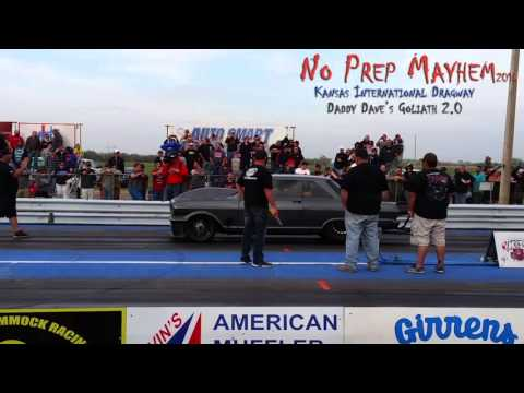 Street Outlaws' Daddy Dave and his Goliath 2.0 solo run