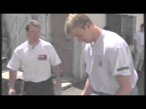 The Los Angeles Kings training camp highlights before lockout 1994-95
