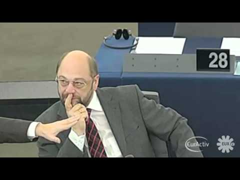 UKIP's Godfrey Bloom calls Martin Schulz an 'Undemocratic Fascist'