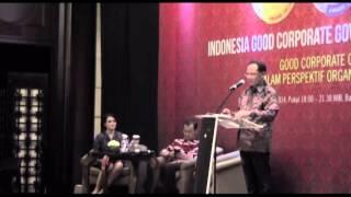 Indonesia Good Corporate Governance Award 2014: Talkshow