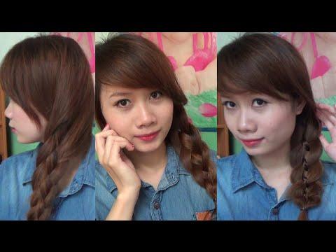 Hairstyles - 2 Kiểu Tết 4 Đơn Giản Mà Nữ Tính