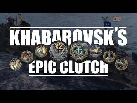 World Of Warships - Khabarovsk's Epic Clutch