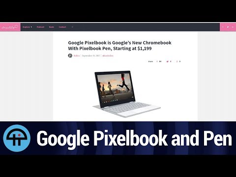 Google Pixelbook and Pen