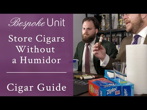 How To Store Cigars Without A Humidor: Effective Short-Term Storage