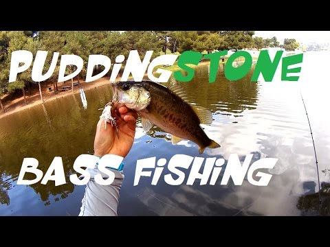 Fishing at puddingstone lake in california for bass youtube for Puddingstone lake fishing