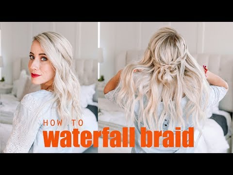 Learn How To Waterfall Braid + 4 Styles |  FOR BEGINNERS!