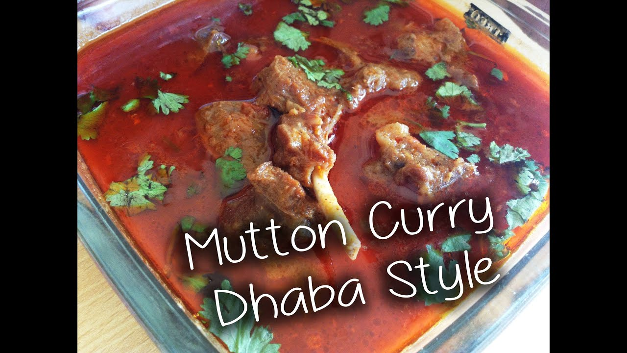 Mutton curry dhaba style recipe by chef shaheen youtube forumfinder Gallery