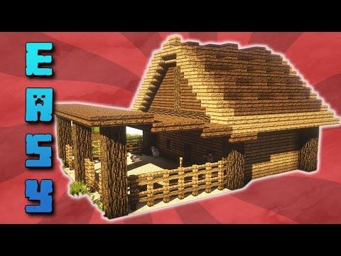 🐣Tutorial: Minecraft Hühnerstall Mit Wasser (MIT DOWNLOAD)   Mittelalter Stall