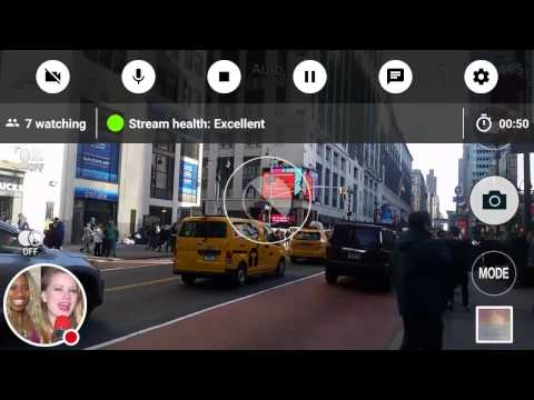 Live streaming from 34th Street and 7 Avenue in Manhattan New York