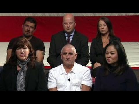 Victims of terror share their stories with Donald Trump