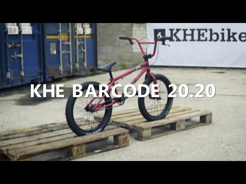 KHEbikes BARCODE 20.20 BMX Complete red