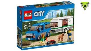 LEGO City 60117. Собираем европейский трейлер прицеп-дачу
