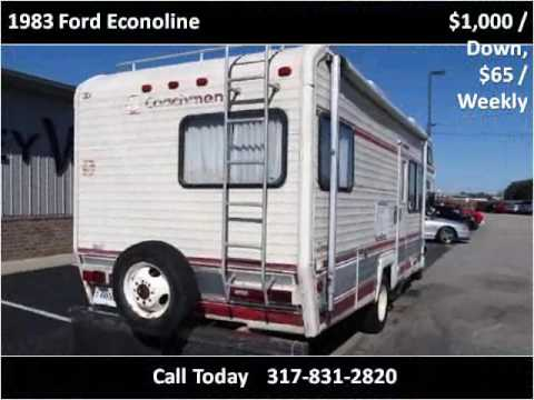 1983 Ford Econoline Used Cars Mooresville IN