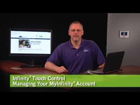 Carrier® Tech Tips: Managing an Infinity® Touch Control Account