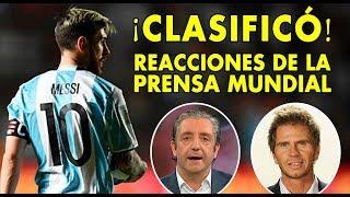 Argentina vs Ecuador | Reacción a la clasificación de Messi