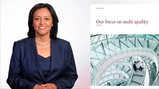 PwC's 2016 Audit Quality Report(Learn more at PwC.com - http://pwc.to/2eY3uje Tim Ryan, PwC US Chairman and Senior Partner, and Maria Castañón Moats, US Assurance Leader, introduce ..., 2016-11-07T13:37:11.000Z)