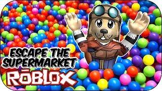 ROBLOX - Ball Pool Fun! - Escape The SuperMarket