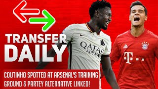 Coutinho Spotted At Arsenal'sTraining Ground & Partey Alternative Linked!