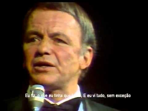 Frank Sinatra My Way Legendado Youtube