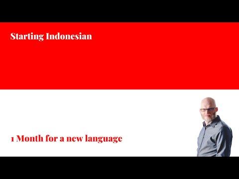 Learning Indonesian with Cinta Bahasa
