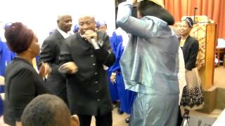 Prophet H. Hunt At Kingsway Apostolic Ark Convention 2014 Sunday Night Pt3