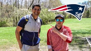 PLAYING DISC GOLF WITH TEDY BRUSCHI!!