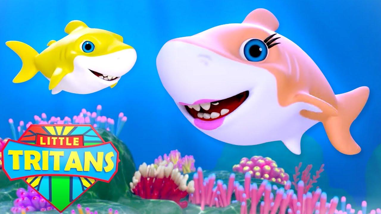 Baby Shark Song | Daddy Shark | Shark Family | Mommy Shark Doo Doo | Nursery Rhymes & Kids Songs