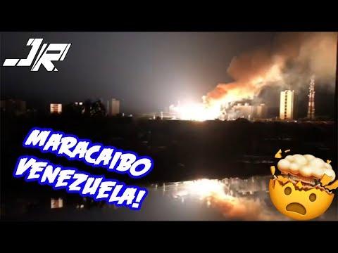 EXPLOSIÓN Sub-Estación ELÉCTRICA MARACAIBO VENEZUELA 31/08/2018 RECOPILACIÓN