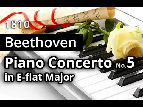"""BEETHOVEN: """"Emperor"""" Piano Concerto No 5 FULL"""