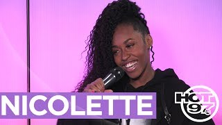 Nicolette Talks Studio Session w LL Cool J Same Day They Met, Her Sister's Death & Performs