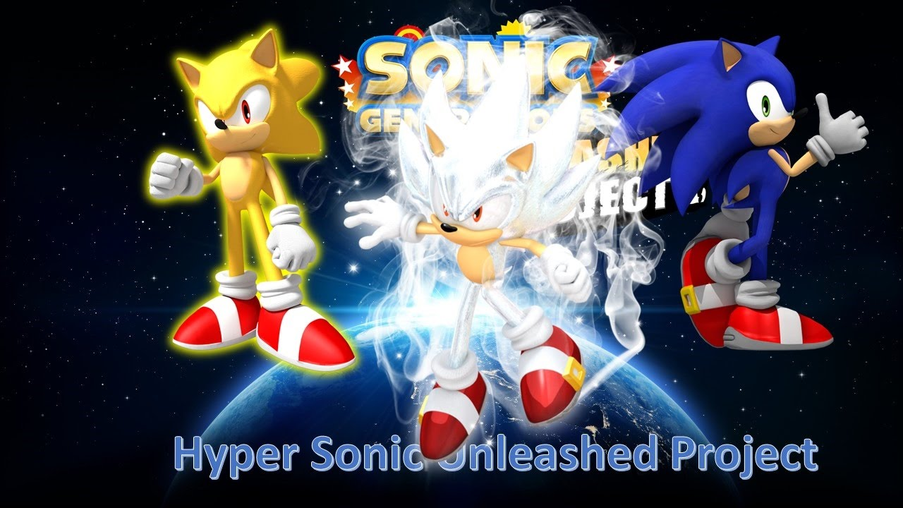 Sonic Generations Mod Part 64 Hyper Sonic Unleashed Project Youtube