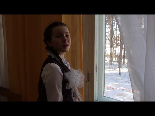 Изображение предпросмотра прочтения – ТатьянаМихалёва читает произведение «Снежок» Ф.И.Тютчева