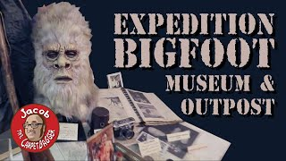 The Dogman!  Modern Pterodactyls!  Expedition Bigfoot Museum and Outpost