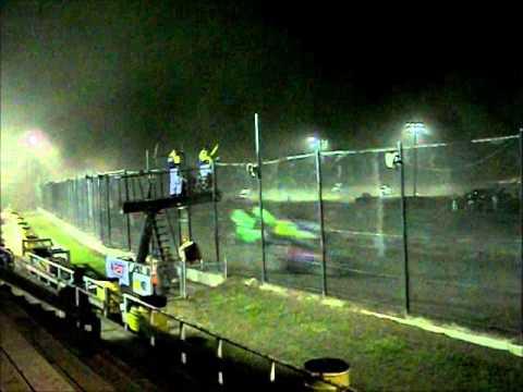 Tony Stewart Wins Patriot Sprint Tour/URC 360 Sprint Race @ Black Rock Speedway! 8/10/12